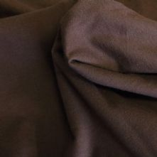 Chestnut Brown Cotton Jersey Dress Fabric 150cm Wide